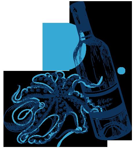 octopus-wine