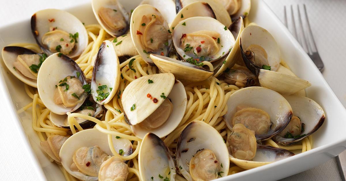 Clams Pasta
