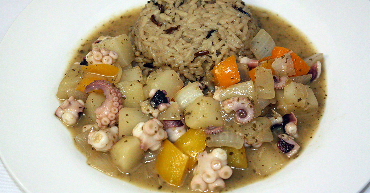 Curried Octopus