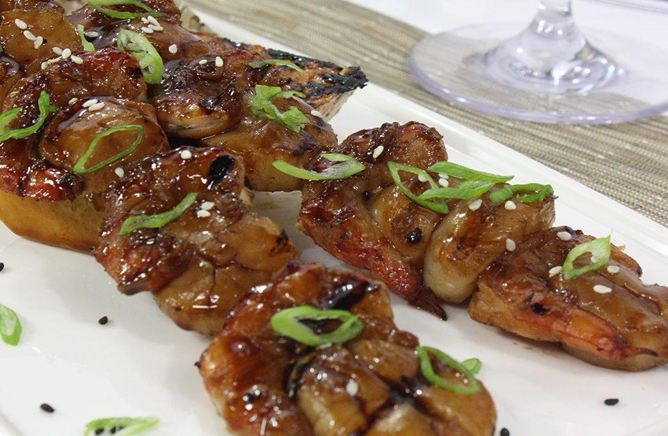 Teriyaki Shrimp Scallop
