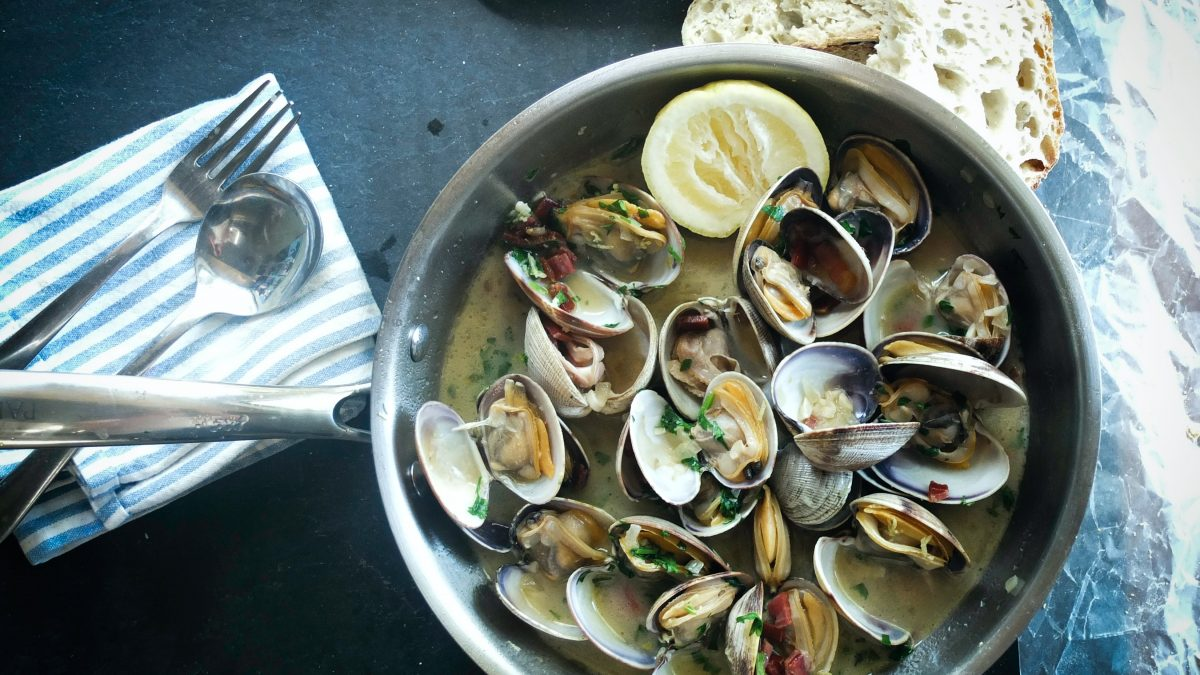 Cooking with Oysters, Clams, and Mussels